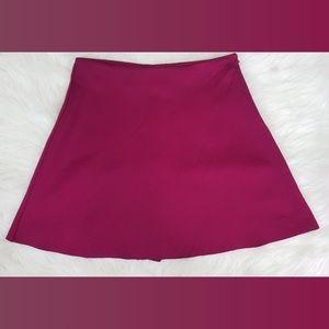 💙2/$20 Forever 21 Magenta Skater Skirt Sz M